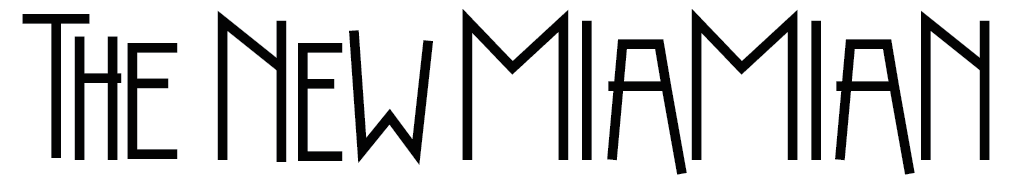 Graphic of Final Design for The New Miamian Logo (2015)